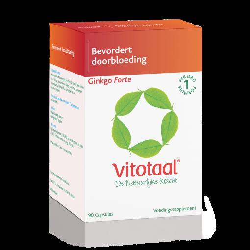 Ginkgo Forte komt van de Ginkgoboom, afkomstig uit China. In Europa is men de laatste jaren ook de waarde van Ginkgo gaan inzien, ondermeer vanwege zijn positieve effect op het reactie-vermogen en de geest.
